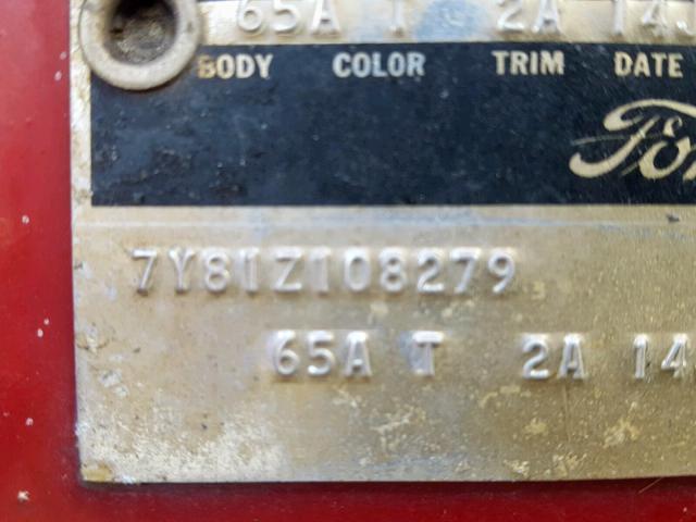 FORD T-BIRD 1967
