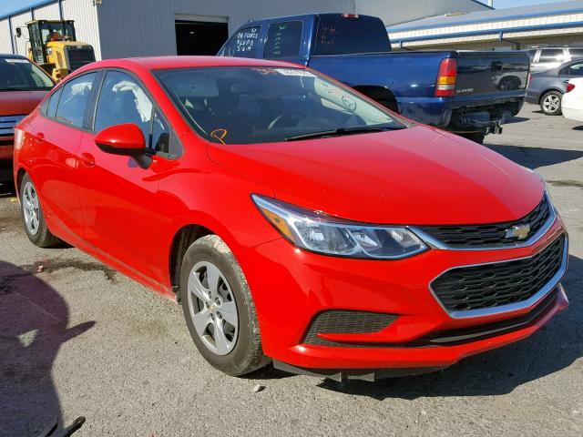 click here to view 2017 CHEVROLET CRUZE LS at IBIDSAFELY