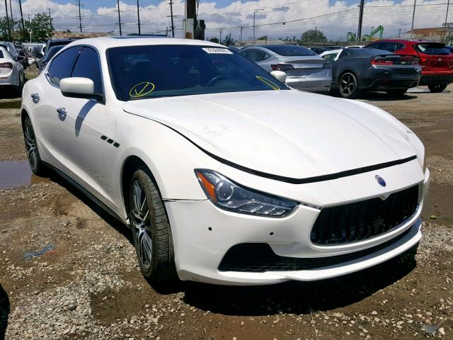 click here to view 2014 MASERATI GHIBLI at IBIDSAFELY
