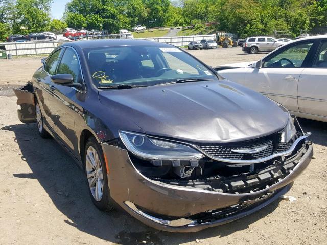 2016 Chrysler 200 limite 2.4. Lot 36644649 Vin 1C3CCCAB3GN164804