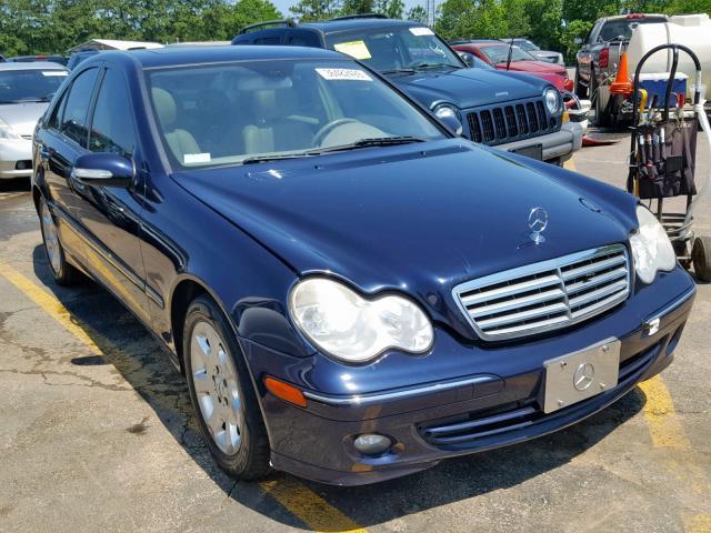 2006 Mercedes-benz C 280 4mat 3.0. Lot 36482499 Vin WDBRF92H96F806260