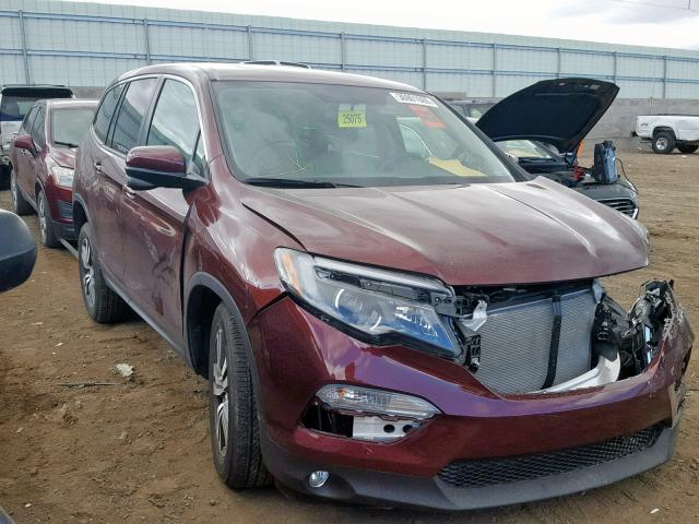 click here to view 2018 HONDA PILOT EXL at IBIDSAFELY