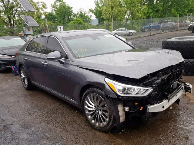 click here to view 2017 GENESIS G90 ULTIMA at IBIDSAFELY