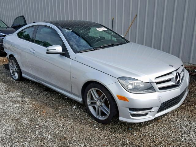 2012 Mercedes-benz C 350 3.5. Lot 38712139 Vin WDDGJ5HB1CF848412