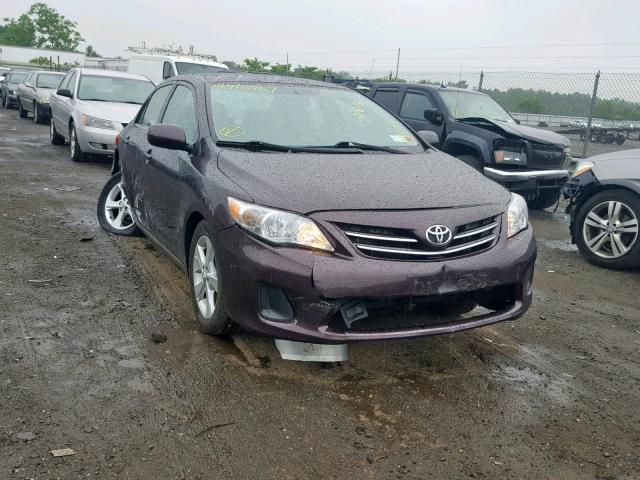 2013 Toyota Corolla ba 1.8. Lot 39416459 Vin 2T1BU4EE7DC080160