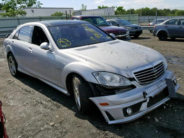 2008 Mercedes-benz S 63 amg 6.2. Lot 40135219 Vin WDDNG77X08A147024