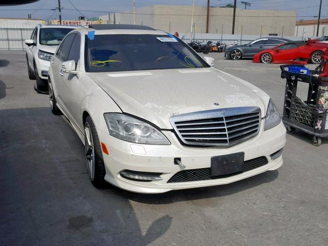 2011 Mercedes-benz S 550 . Lot 40537939 Vin WWNG7BB2BA409306