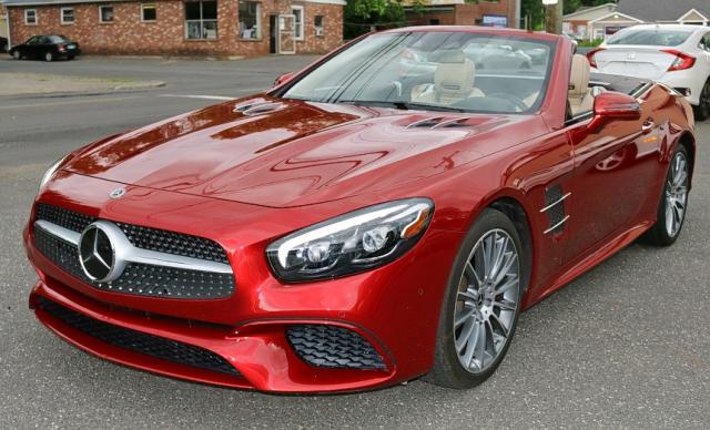 click here to view 2018 MERCEDES-BENZ SL 550 at IBIDSAFELY