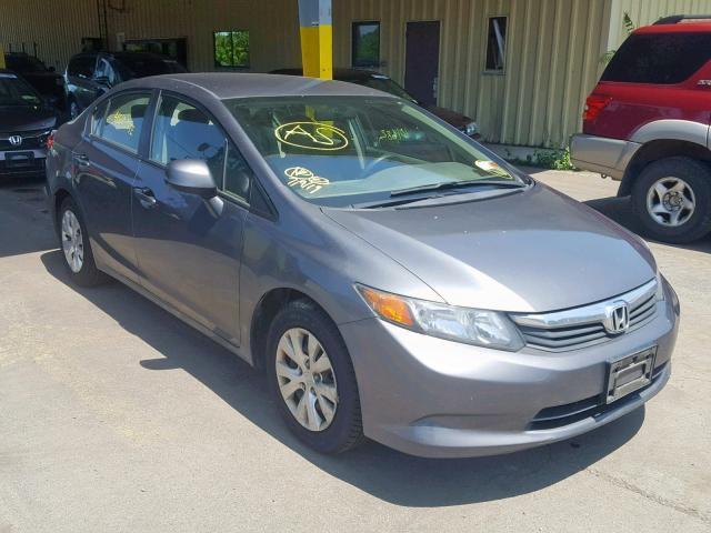2012 Honda Civic lx 1.8. Lot 41510299 Vin 19XFB2F55CE380208
