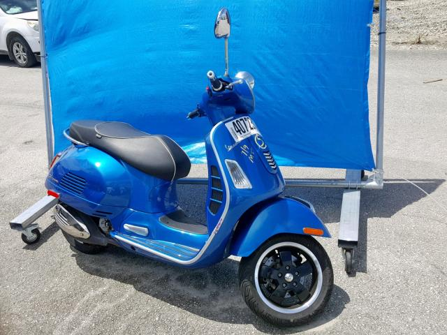 click here to view 2015 VESPA GTS 300 SU at IBIDSAFELY