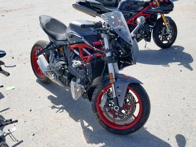 2019 Ducati Supersport . Lot 44801339 Vin ZDMVABDS1KB007688