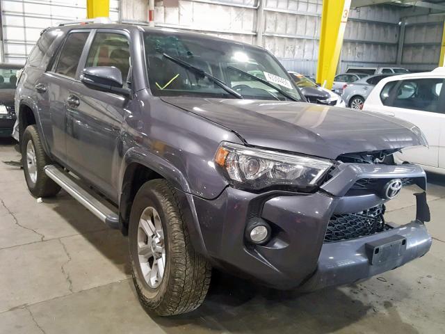 2018 Toyota 4runner sr 4.0. Lot 37311480 Vin JTEBU5JR4J5500735