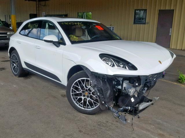 2018 Porsche Macan 2.0. Lot 44665499 Vin WP1AA2A55JLB23282