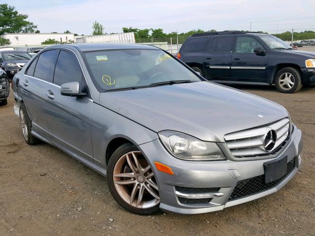 2012 Mercedes-benz C 300 4mat 3.0. Lot 44114319 Vin WDDGF8BB4CR230205