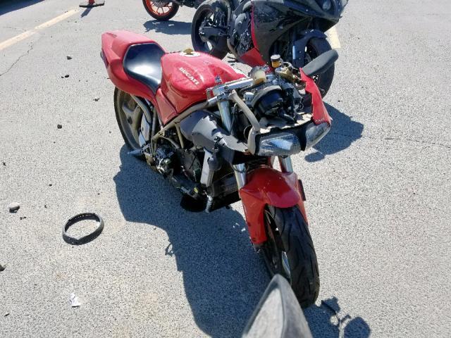 1997 Ducati 916 bipost . Lot 43516749 Vin ZDM1SB8S1VB010570