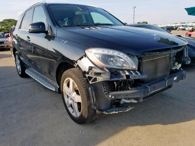 2014 Mercedes-benz Ml 350 3.5. Lot 45070939 Vin 4JGDA5JB9EA317994