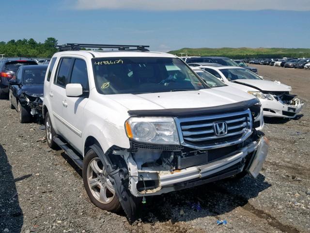 2012 Honda Pilot exl 3.5. Lot 41886129 Vin 5FNYF4H53CB008544