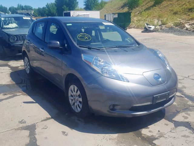 2015 Nissan Leaf s . Lot 45301929 Vin 1N4AZ0CP3FC306030
