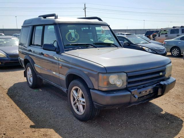 2004 Land rover Discovery 4.6. Lot 45899709 Vin SALTL19454A847105