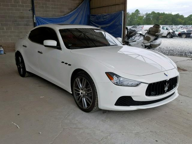 click here to view 2016 MASERATI GHIBLI S at IBIDSAFELY