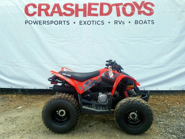 click here to view 2019 CAN-AM DS 70-4ST at IBIDSAFELY