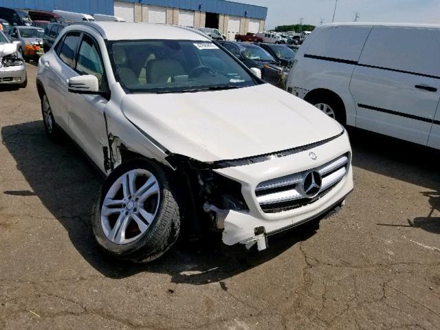 2015 Mercedes-benz Gla 250 2.0. Lot 47569609 Vin WDCTG4EB8FJ118532