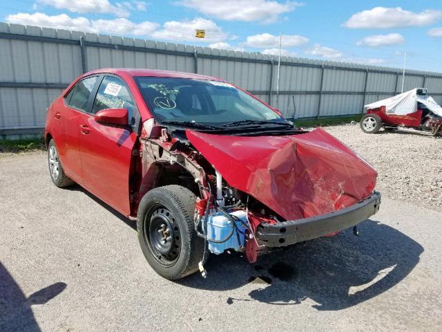 2015 Toyota Corolla l 1.8. Lot 47600569 Vin 2T1BURHE0FC439960