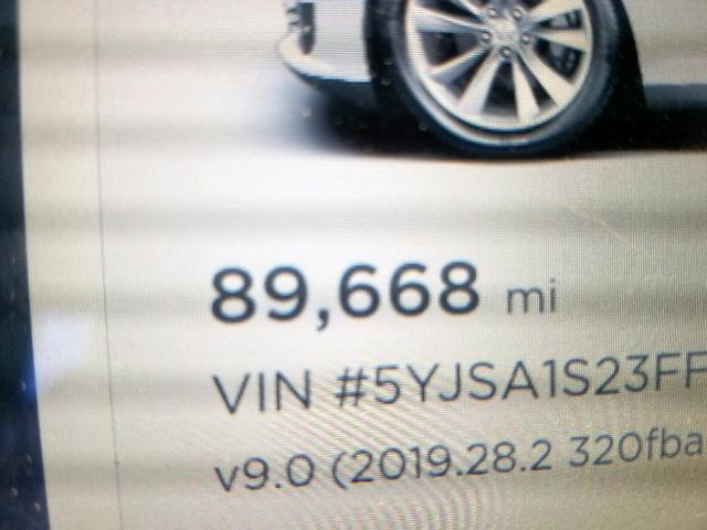 2015 Tesla Model s 70 . Lot 47242949 Vin 5YJSA1S23FF094427