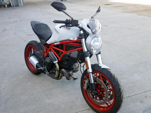 2018 Ducati Monster 79 . Lot 47591169 Vin ML0MADBM9JT002416