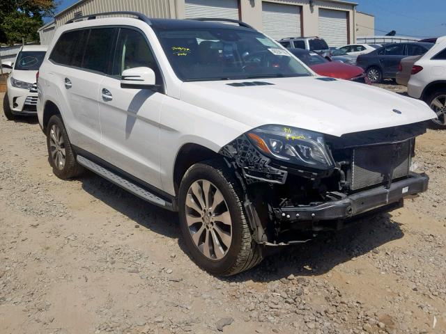 2017 Mercedes-benz Gls 450 4m 3.0. Lot 48294139 Vin 4JGDF6EE1HA758874