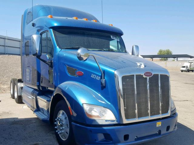 click here to view 2015 PETERBILT 587 at IBIDSAFELY