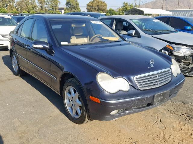 2003 Mercedes-benz C 240 2.6. Lot 48568539 Vin WDBRF61J53F313304