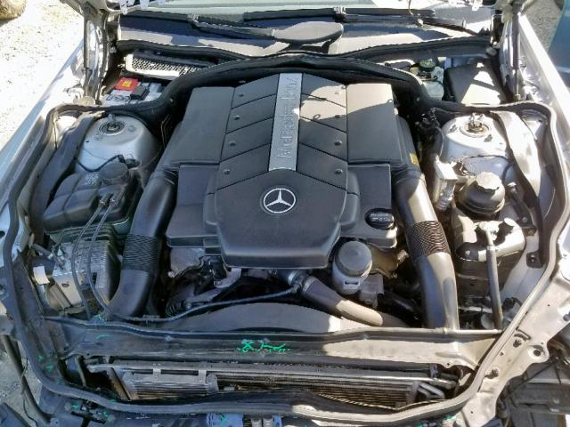 2003 Mercedes-benz Sl 500r 5.0. Lot 49202519 Vin WDBSK75FX3F016683