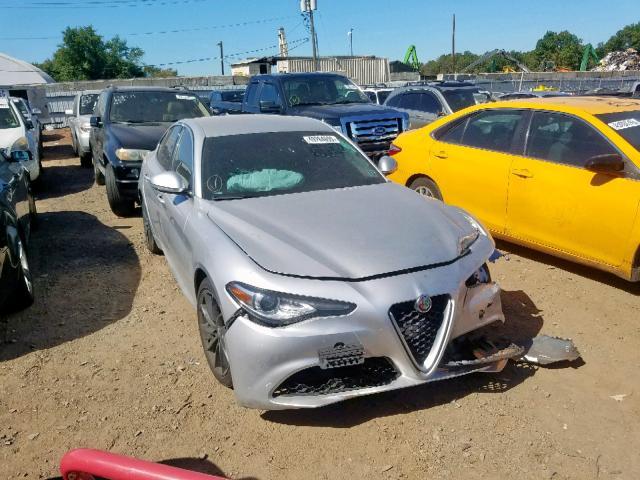 2017 Alfa romeo Giulia 2.0. Lot 49264699 Vin ZARFAEBN8H7532926
