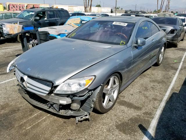 2010 Mercedes-benz Cl 550 4ma 5.5. Lot 49198229 Vin WDDEJ8GB7AA025178