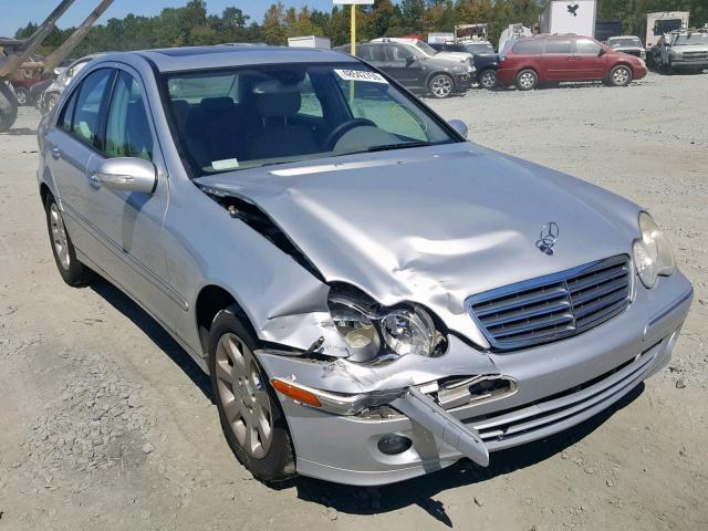 2006 Mercedes-benz C 280 3.0. Lot 48542759 Vin WDBRF54H86F832788