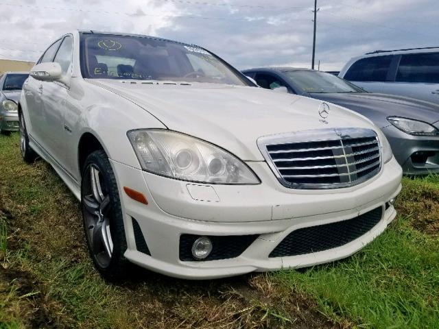 2009 Mercedes-benz S 63 amg 6.2. Lot 50559799 Vin WDDNG77X19A265732