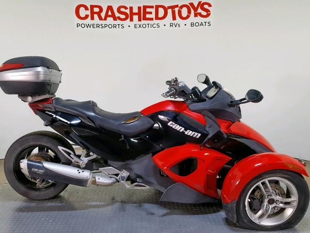 click here to view 2009 CAN-AM SPYDER ROA at IBIDSAFELY