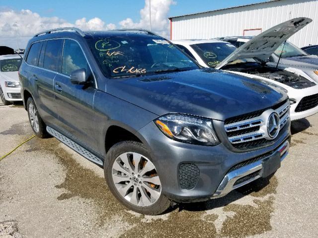 2018 Mercedes-benz Gls 450 4m 3.0. Lot 50067839 Vin 4JGDF6EEXJB182654