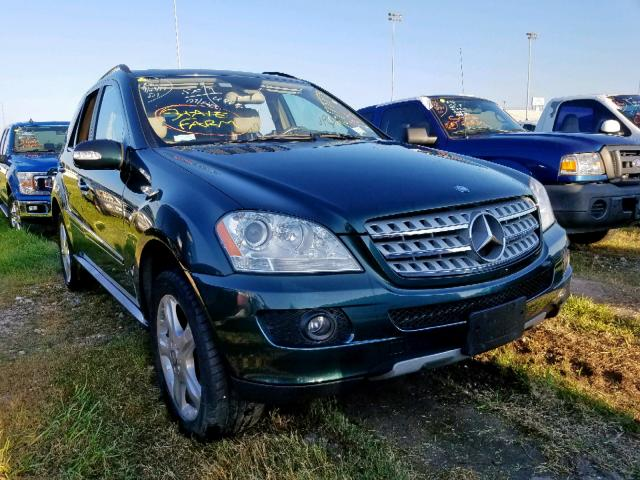2008 Mercedes-benz Ml 350 3.5. Lot 50173379 Vin 4JGBB86E68A362632