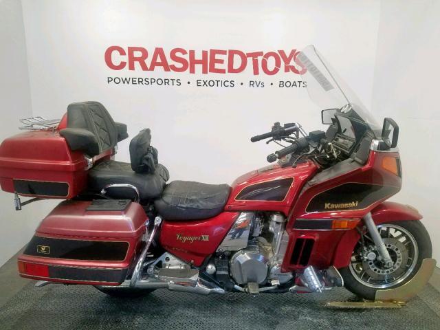 1996 Kawasaki Zg1200 . Lot 50410119 Vin JKAZG9B18TB507759