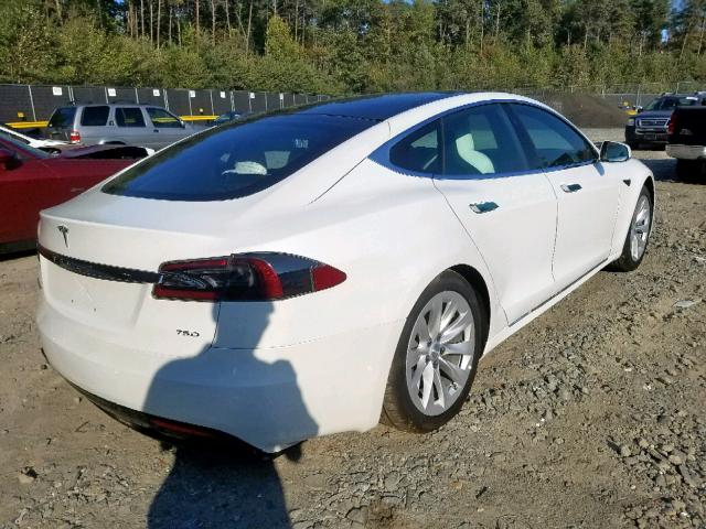 2019 Tesla Model s . Lot 51064449 Vin 5YJSA1E26KF299861
