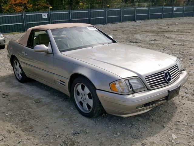 1999 Mercedes-benz Sl 500 5.0. Lot 50456459 Vin WDBFA68F2XF177979
