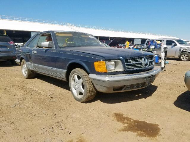 1983 Mercedes-benz 380 sec 3.8. Lot 50922079 Vin WDBCA43A8DB004263