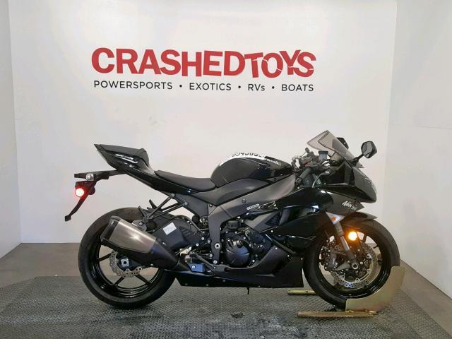 2009 Kawasaki Zx600 r . Lot 47654589 Vin JKAZX4R149A004401