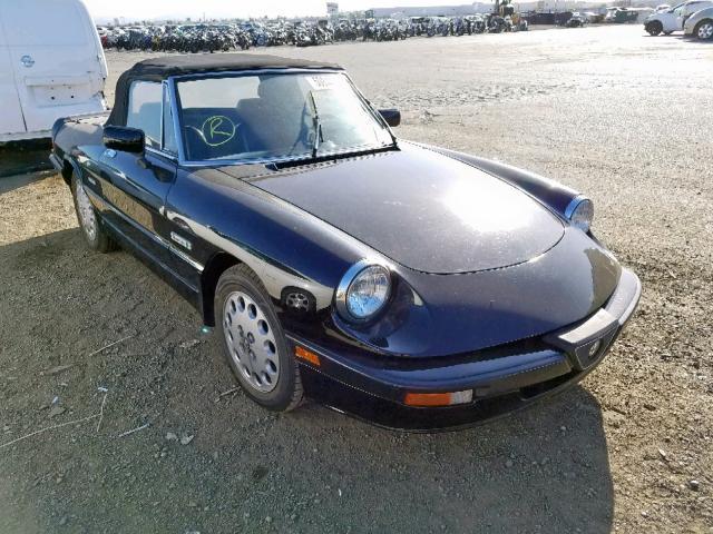 1990 Alfa romeo Spider qua 2.0. Lot 50844699 Vin ZARBA12T7L6001625