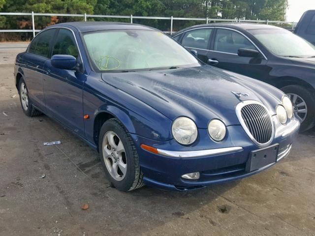 2002 Jaguar S-type 3.0. Lot 51316979 Vin SAJDA01N22FM26900