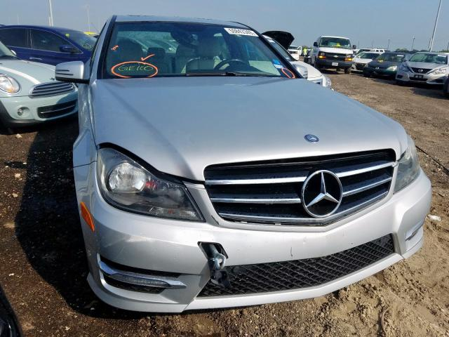 2014 Mercedes-benz C 250 1.8. Lot 50843349 Vin WDDGF4HB3EA952699