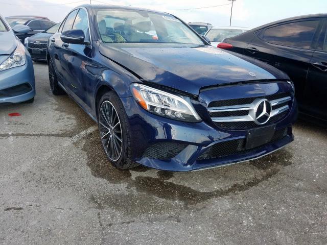 2019 Mercedes-benz C 300 2.0. Lot 51610679 Vin 55SWF8DB9KU298330