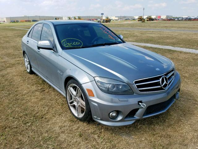 2009 Mercedes-benz C 63 amg 6.2. Lot 51608029 Vin WDDGF77X49F229306